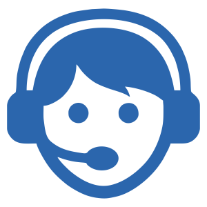 call centre agent icon